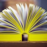 Irma Boom réalise des livres de tous formats qu'elle personnalise avec des touches originales comme cette tranche jaune.