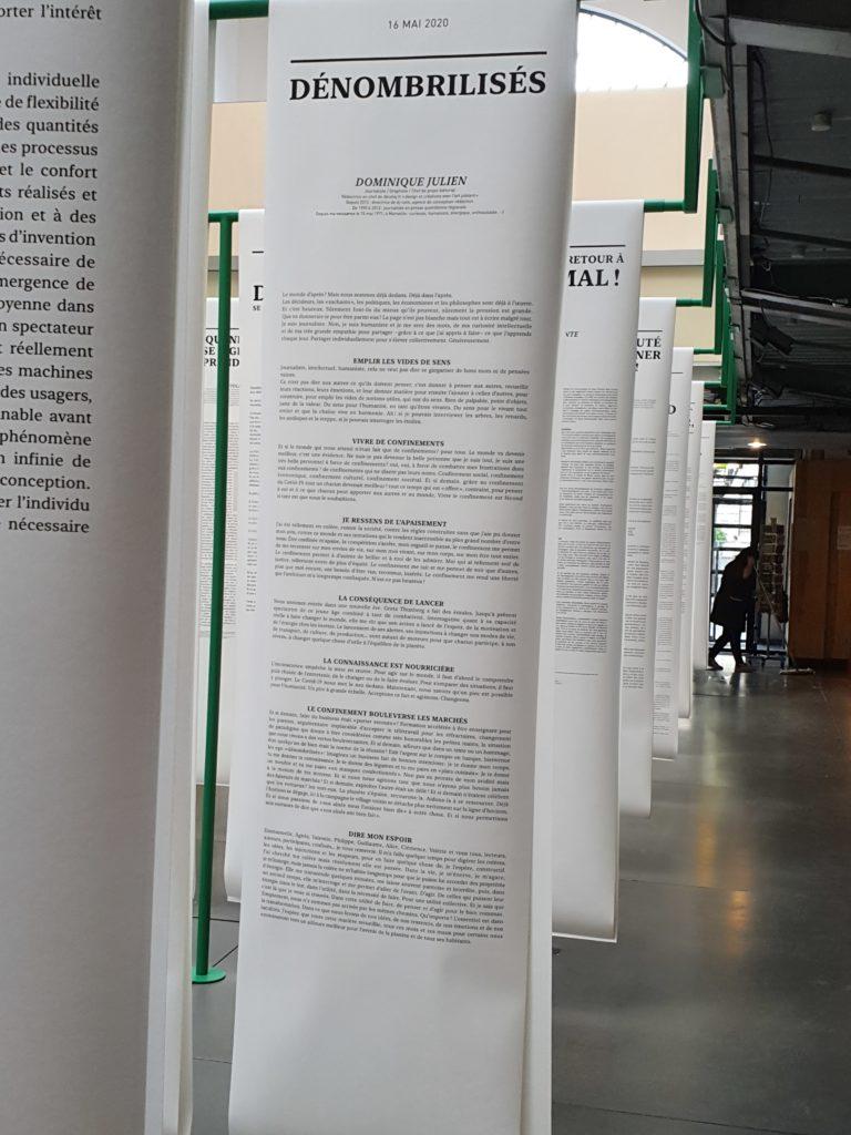 photo d'une affiche avec un texte