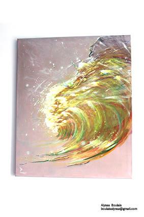 """""""Vie et lumière"""" de Patricia Blondel."""