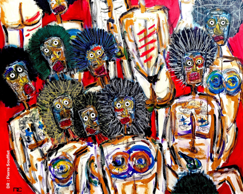 Raw#1 - Pierre SOUFFLET, art brut, peintre amiénois