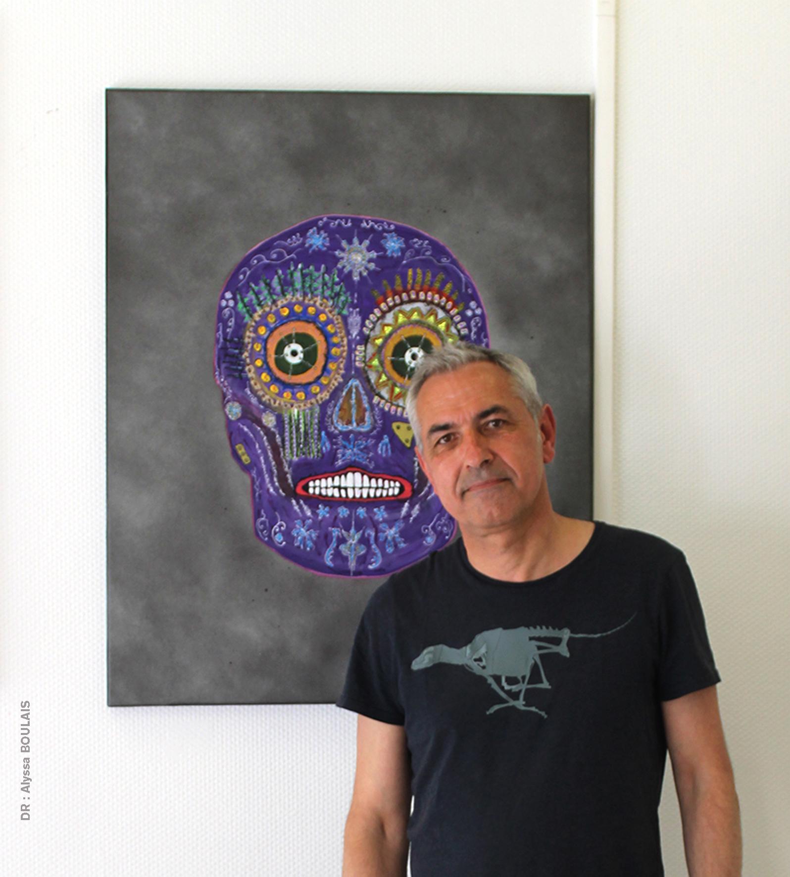 Pierre SOUFFLET, art brut, peintre amiénois